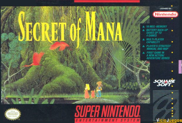 Secret of mana cover